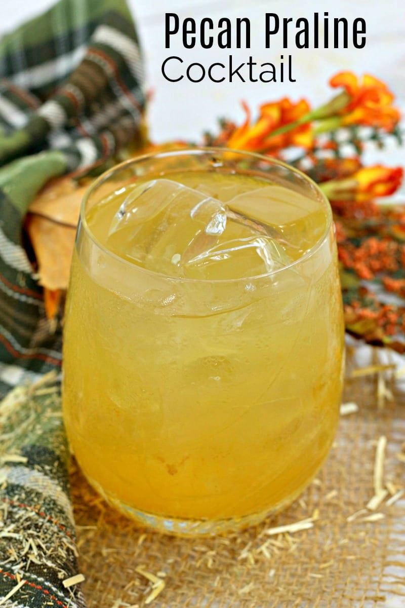 text pin bourbon pecan praline cocktail