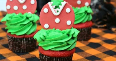 feature audrey ii cupcakes