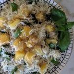 Pineapple Basil Basmati Rice Recipe