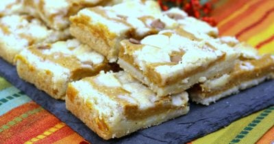 feature pumpkin cheesecake cookie bars recipe
