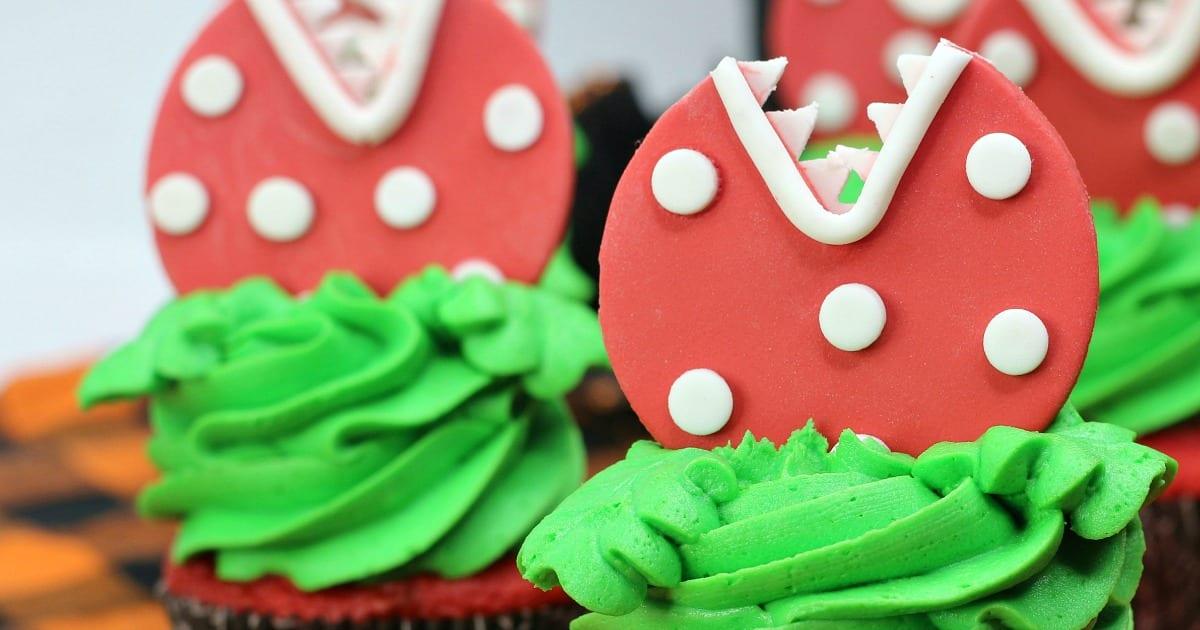 feed me seymour cupcakes