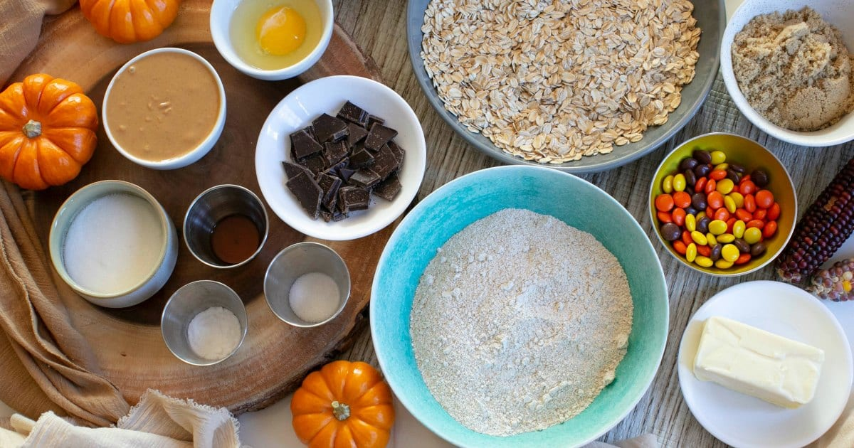 ingredients for thanksgiving cookies