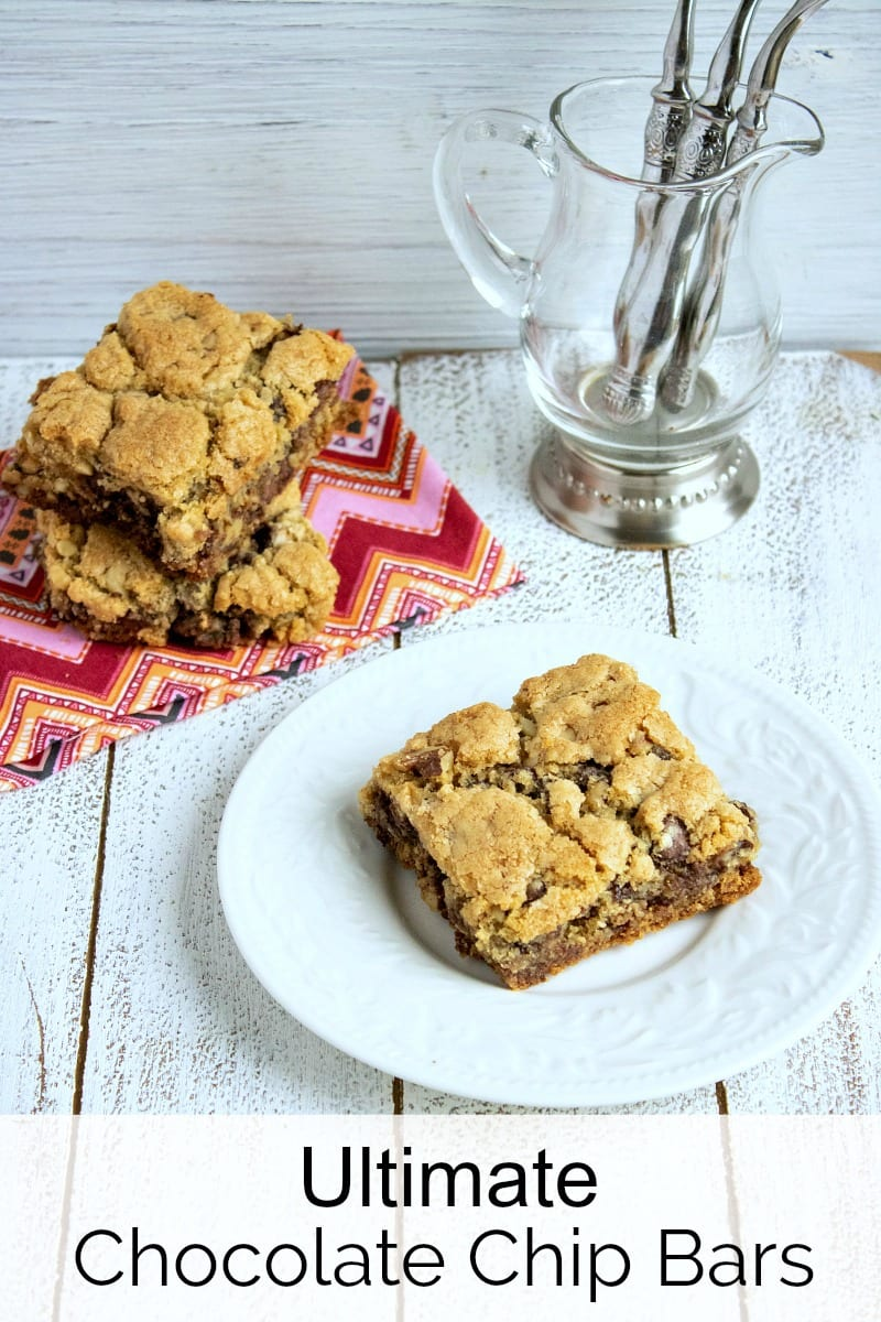 pin ultimate chocolate walnut cookie bars