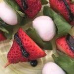 Caprese Strawberry Kebabs Recipe