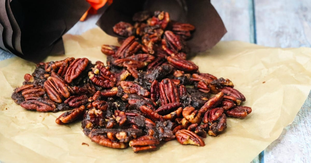feature chai spiced pecans
