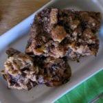 Easy Cinnamon Roll Bread Pudding Recipe