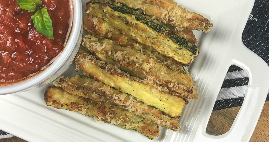 feature crispiest gluten free baked zucchini fries