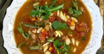 feature vegan dutch oven minestrone soup