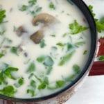 Slow Cooker Vegan Wild Rice Soup Recipe