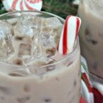 Chocolate Peppermint White Russian Cocktail