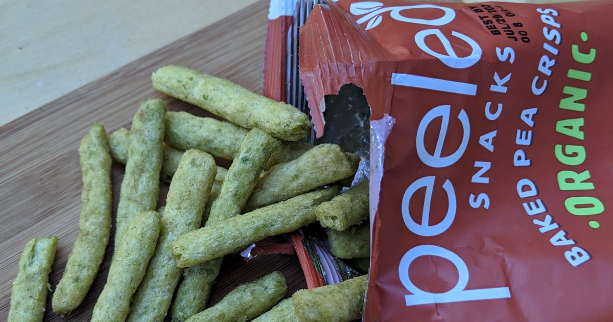pea crisps peeled snacks