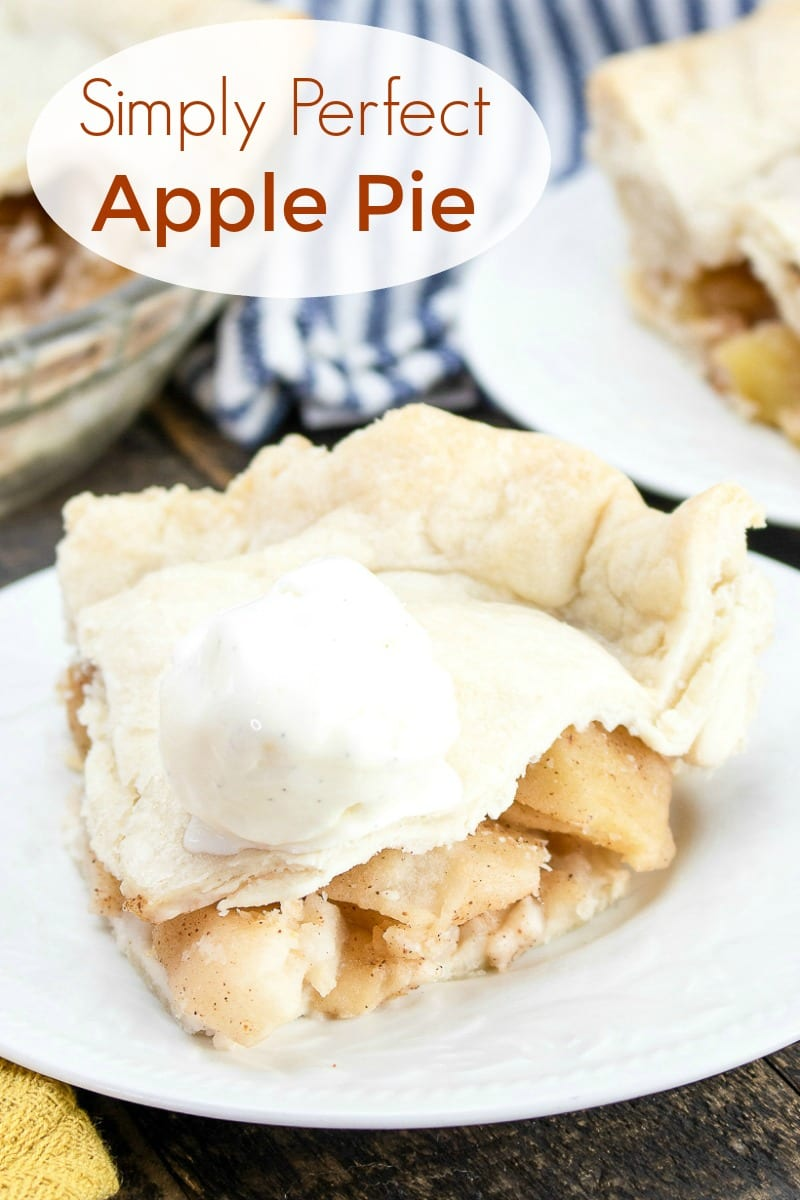 pin an apple pie a la mode