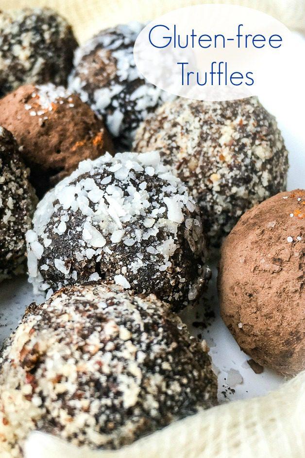 Gluten Free Vegan Chocolate Truffles Recipe #Truffles #GlutenFree #Vegan #Vegetarian