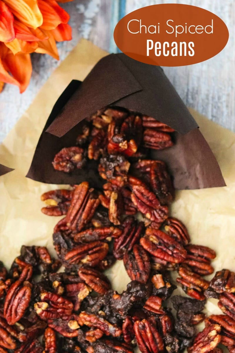 pin sweet brown sugar candied pecans