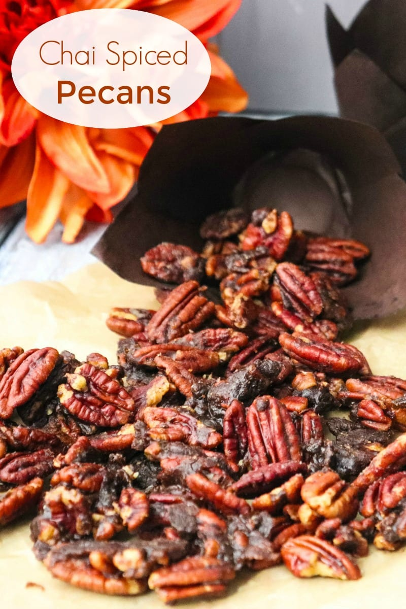 pin tasty spiced pecans