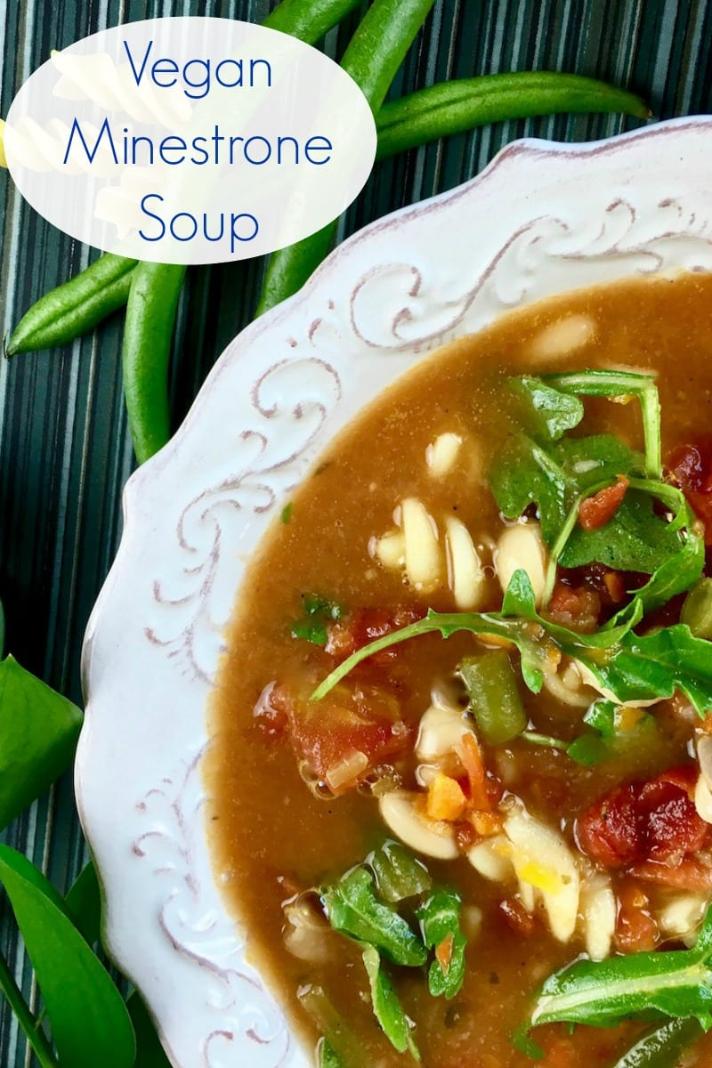 Vegan Dutch Oven Minestrone Soup Recipe