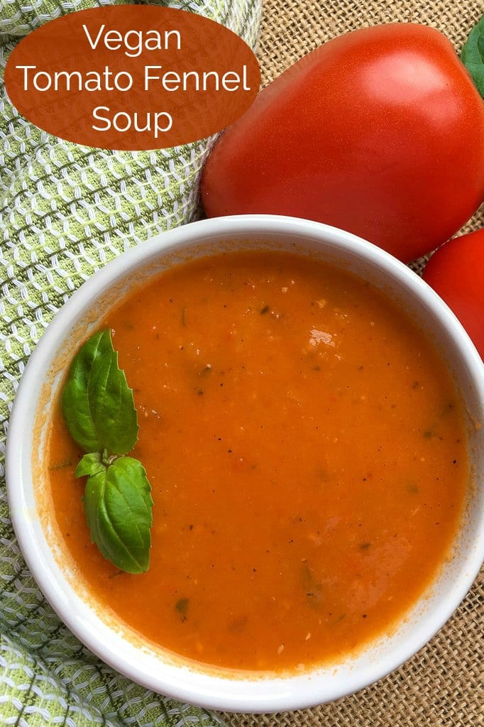 pin vegan tomato fennel soup