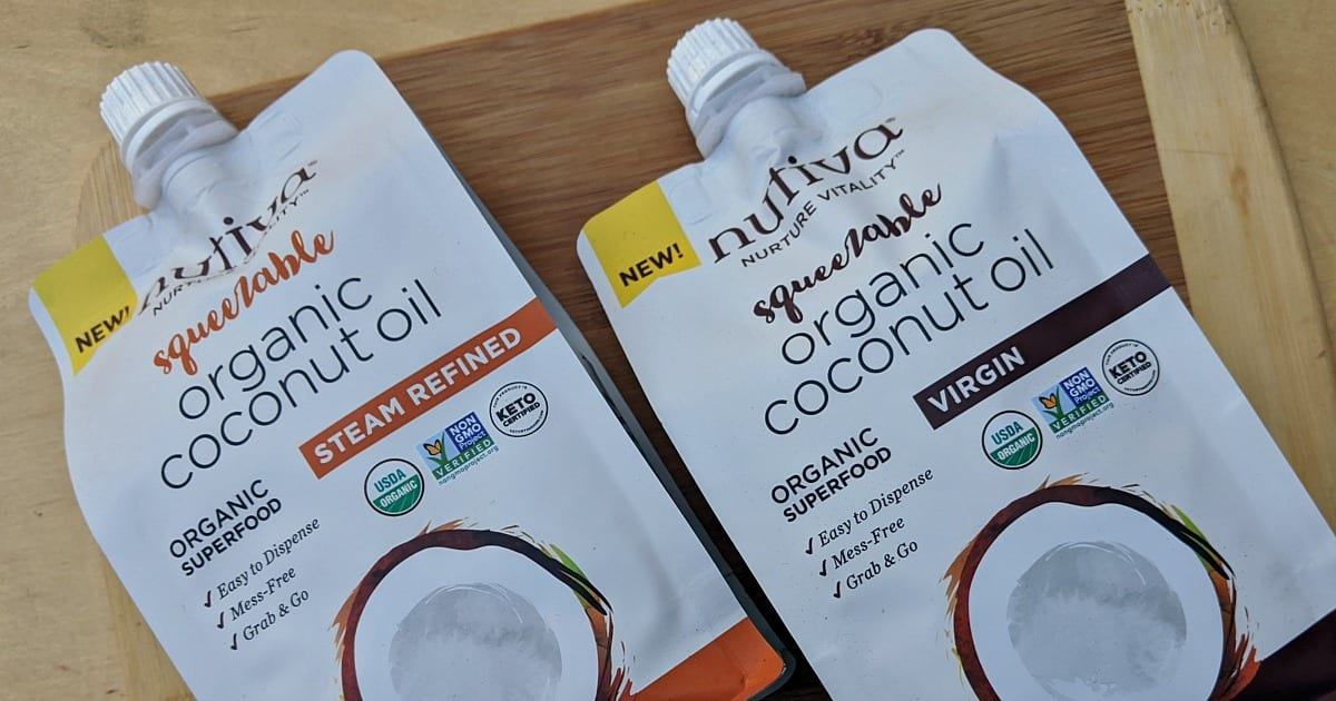 squeezable nutiva coconut oil