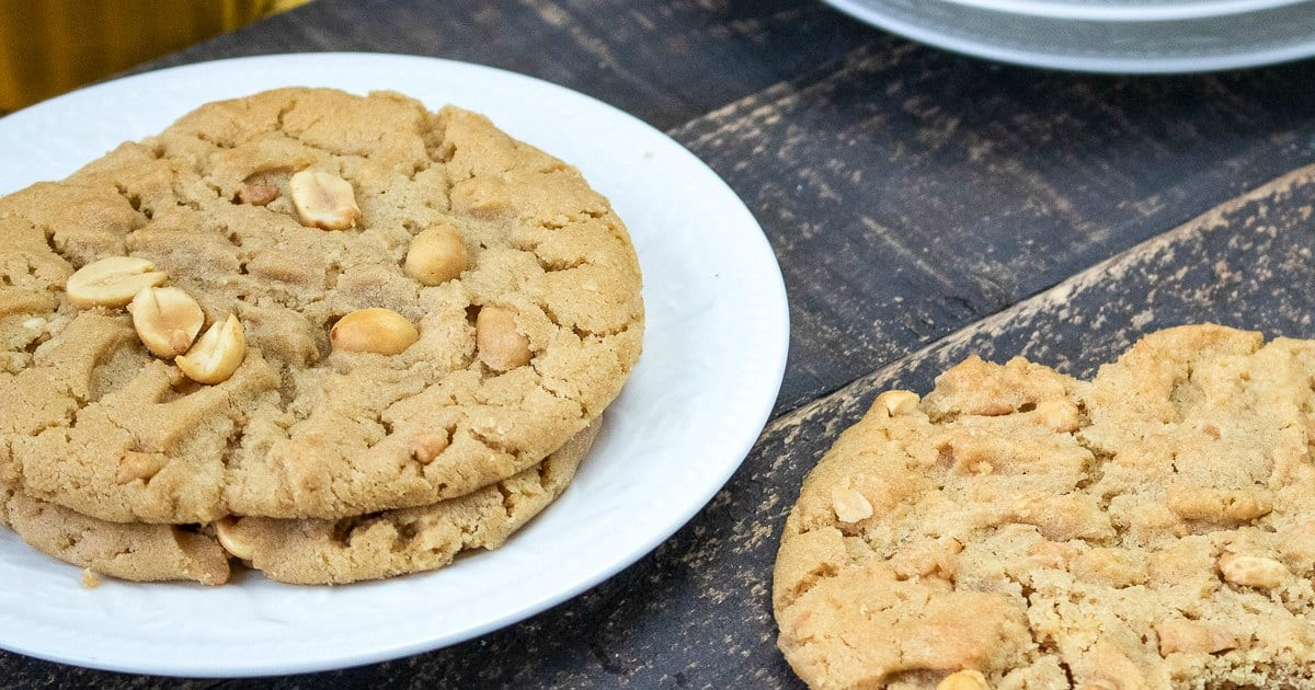 feature chewy chunky peanut butter cookies