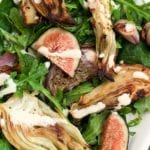 Fig and Fennel Salad with Lemon Dressing