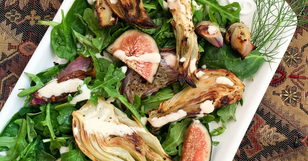 feature fig and fennel salad