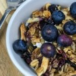 Homemade Blueberry Vanilla Granola Recipe