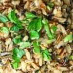 Easy Vegan Instant Pot Wild Rice Pilaf Recipe
