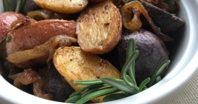 feature rosemary roasted potatoes