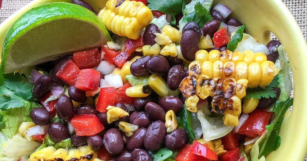 feature vegan mexican avocado salad