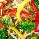 Vegan Satay Noodles Recipe