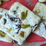 White Chocolate Cherry Pistachio Cookies Recipe