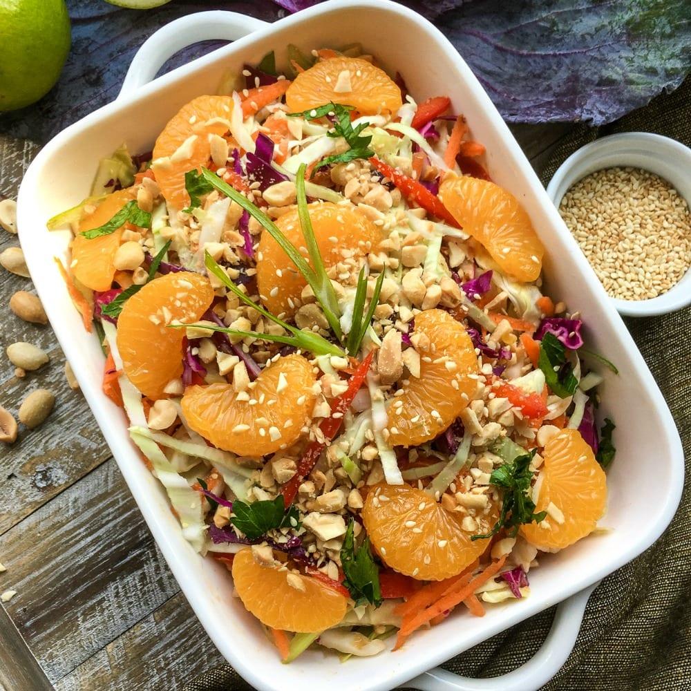 asian salad peanut dressing