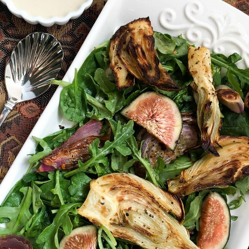 insta fig fennel salad