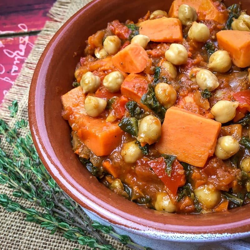 insta vegan butternut stew
