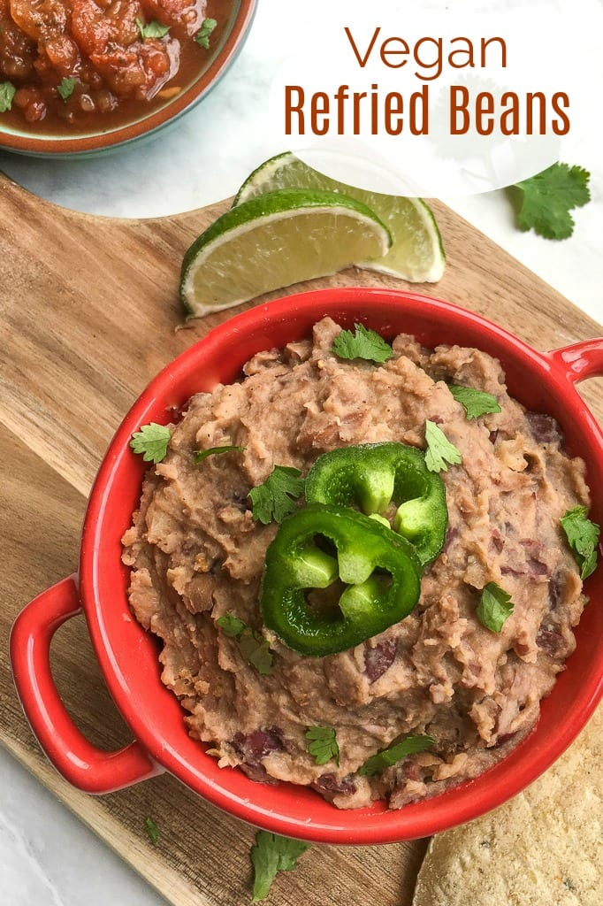 pin coconut oil refried beans