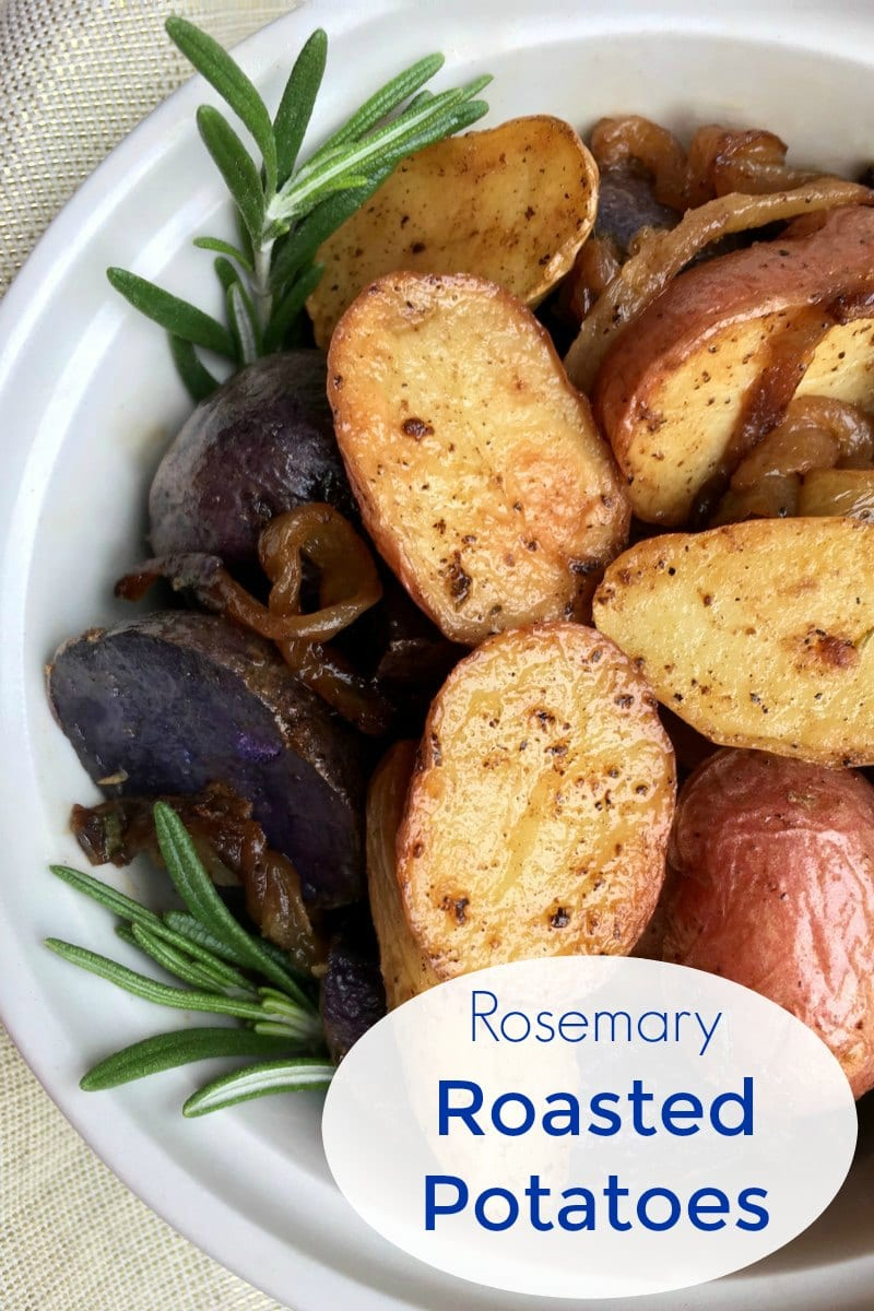pin garlic rosemary roasted potatoes