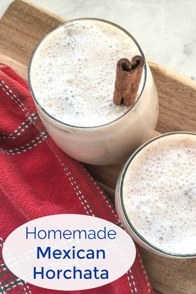 Mexican Horchata Recipe without white sugar #Horchata #recipes
