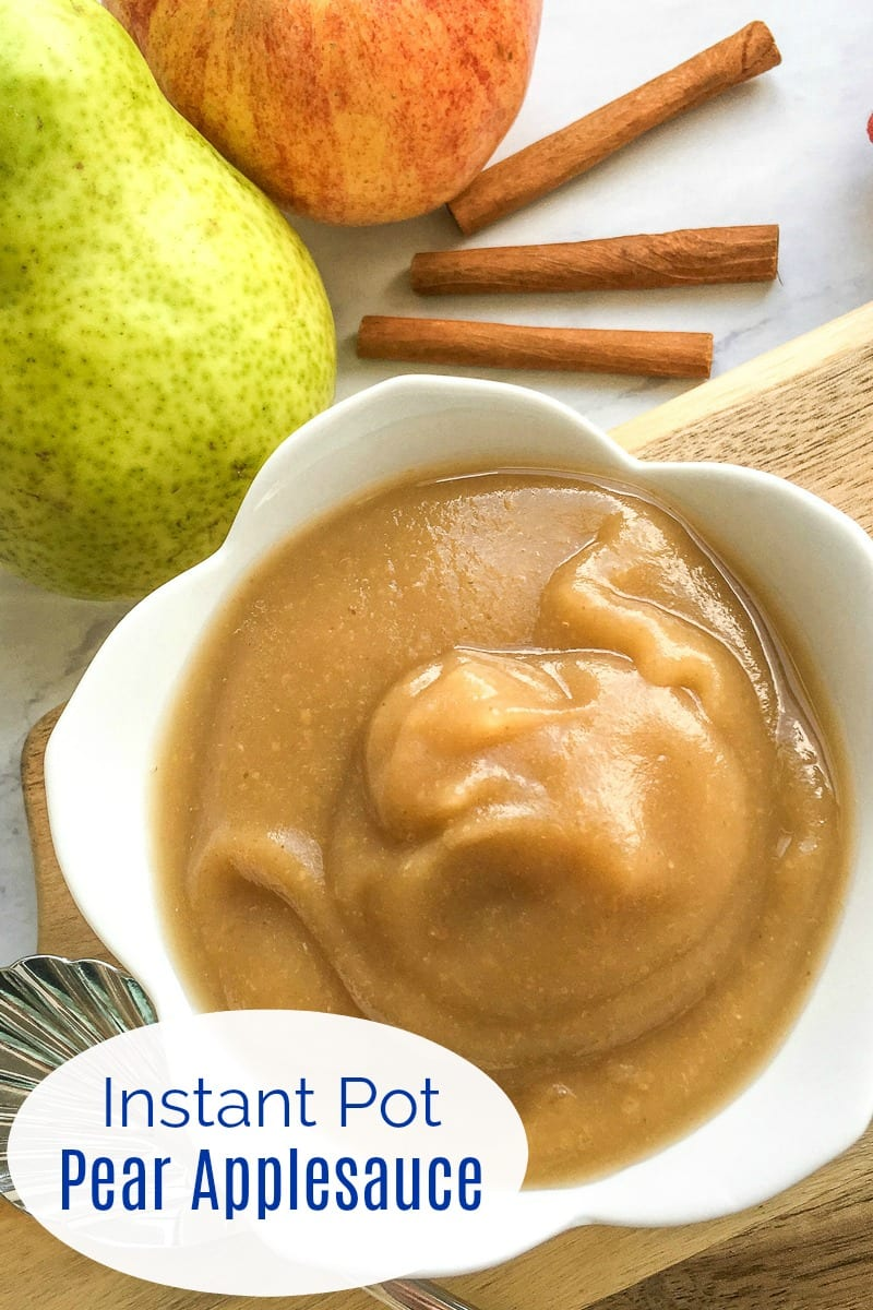 pin instant pot pear applesauce