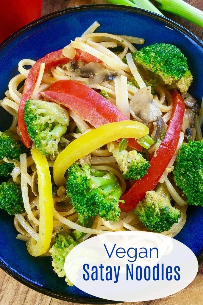 pin spicy vegan peanut noodles