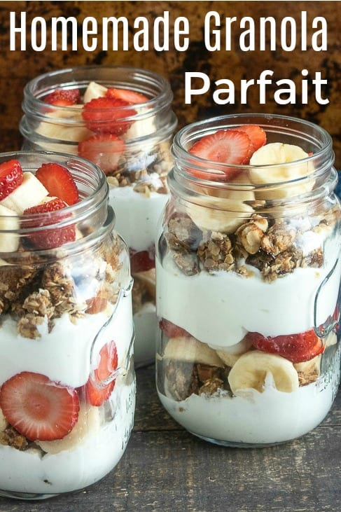 pin tasty banana strawberry parfait