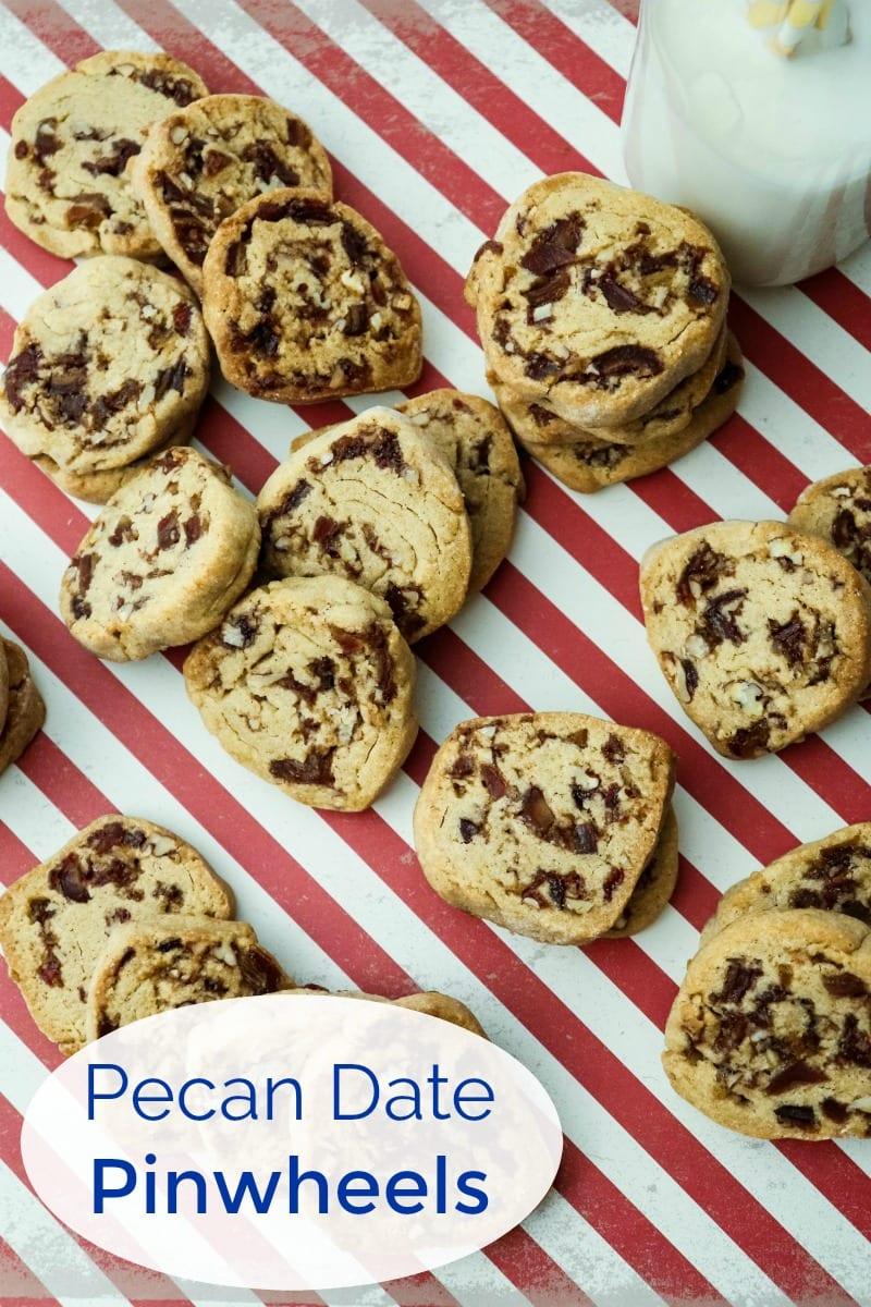 pin tasty date pecan pinwheels