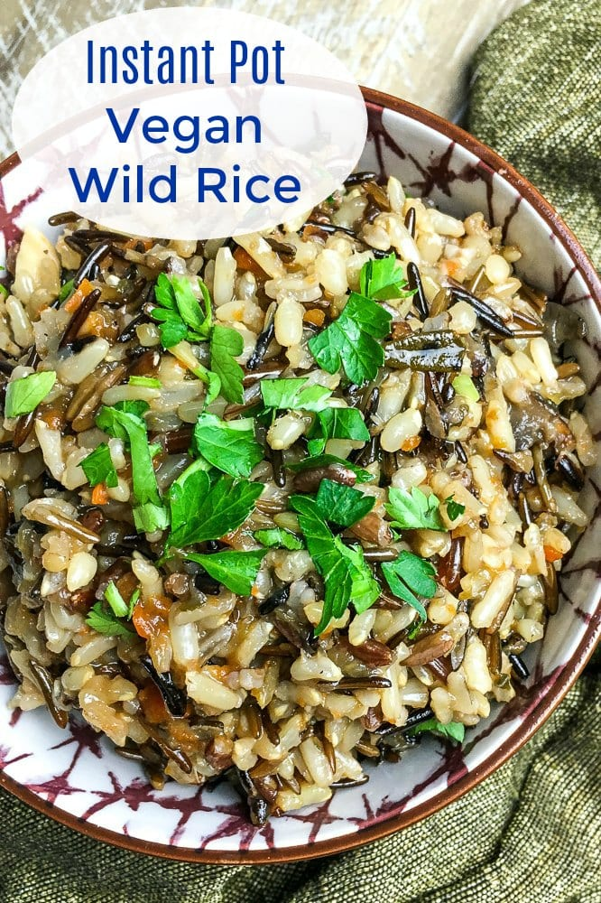tasty instant pot wild rice pilaf