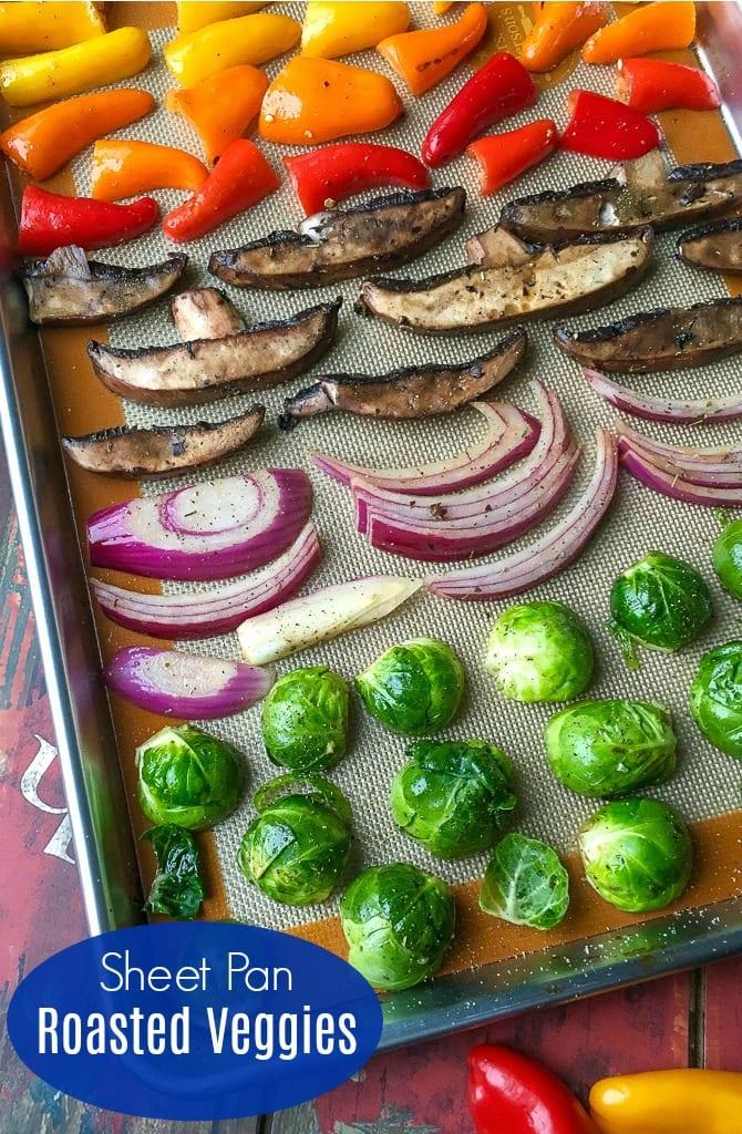 pin yummy veggies ready for roasting