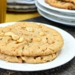 Chewy Chunky Peanut Butter Cookies Recipe