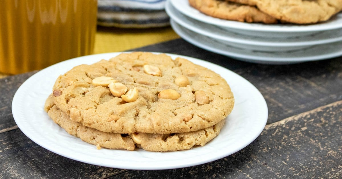 feature chunky peanut butter cookies