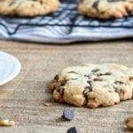 Walnut Dark Chocolate Chunk Cookies Recipe