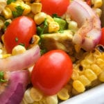 Vegan Grilled Corn Salad Recipe