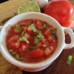 Homemade Garden Salsa Recipe