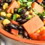 Vegan Black Bean Stew Recipe