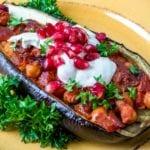 Vegan Stuffed Eggplant Recipe
